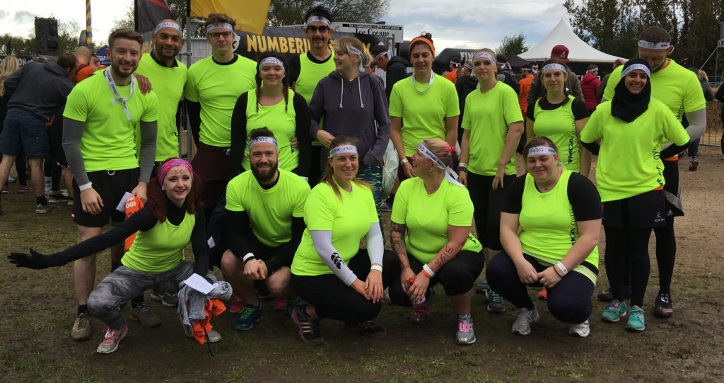 YMCA Nottingham Survival fittest team 2017