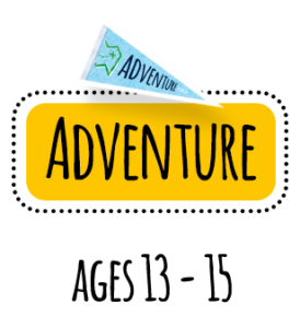 YMCA Adventure guides 13 to 15