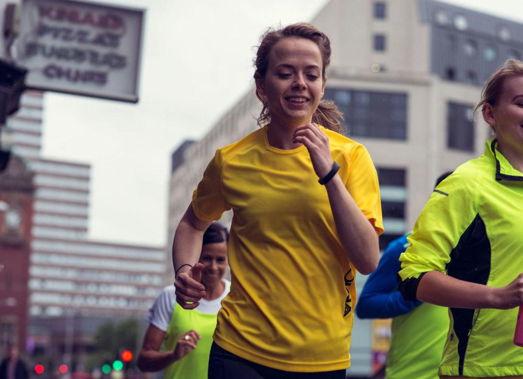 Alison running