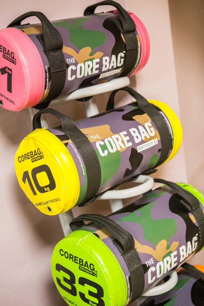ymca gym facilities core bags