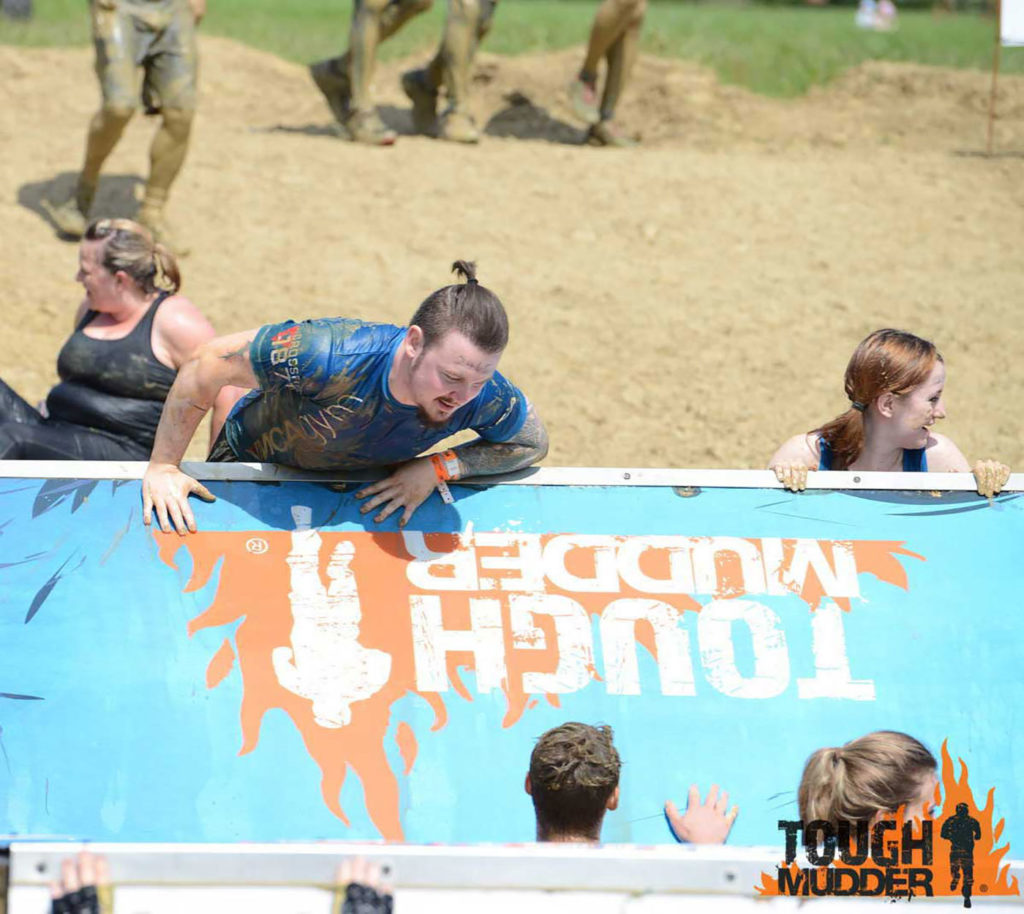 Kritsian-Pugh-tackles-Tough-Mudder