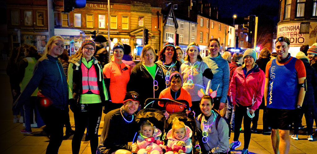 YMCA Gym Nottingham Light Night Run