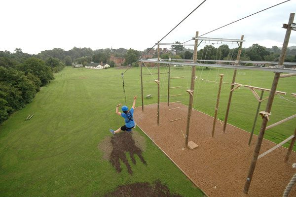 YMCA Adventure Guides - high ropes