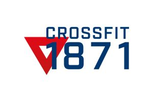 Crossfit 1871 Logo blue