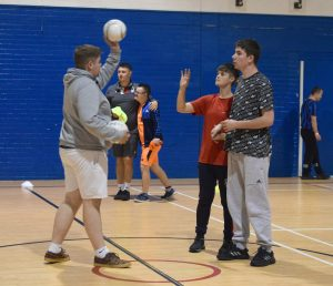 Onside sports programme at Nottinghamshire  YMCA