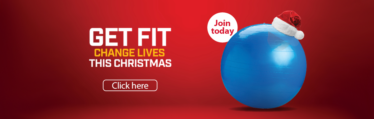YMCA Gym - Christmas gift vouchers banner