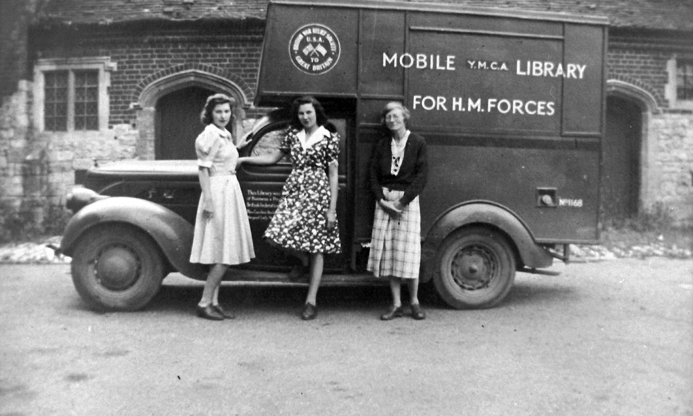 YMCA-Nonington-mobile-library-1942-