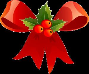 Christmas-bow-holly