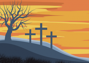 Lent-Christian-Cross-on-hill