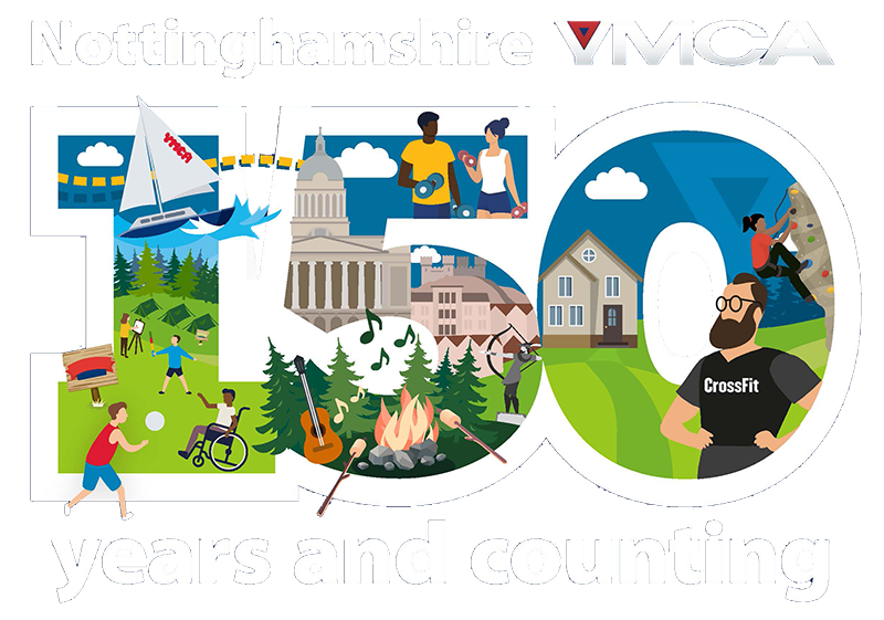 150 ymca logo nottingham
