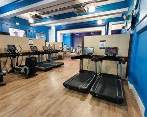 Notts YMCA gym area treadmills