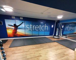 Notts YMCA gym stretch area