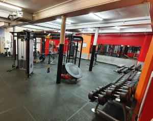 Notts YMCA gym free weights room