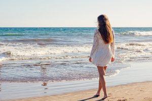woman-beach-nature